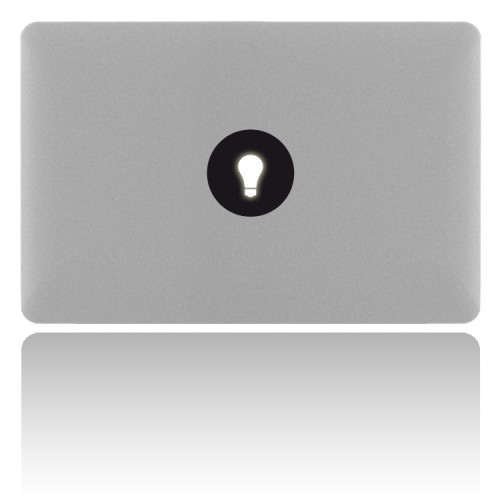 MacBook Sticker LIGHTBULB