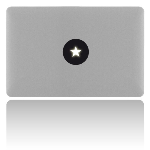 macBook Sticker STAR