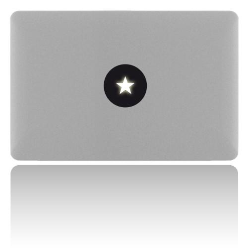 macBook Sticker STAR
