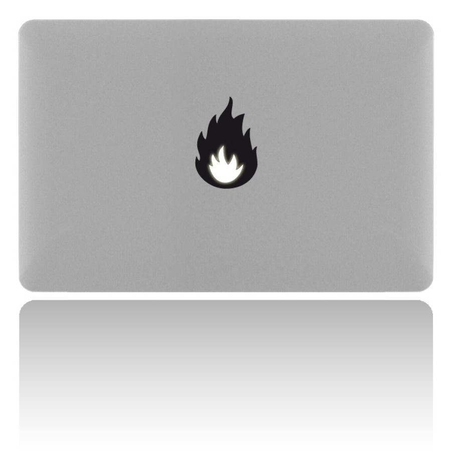 MacBook Sticker FIRE